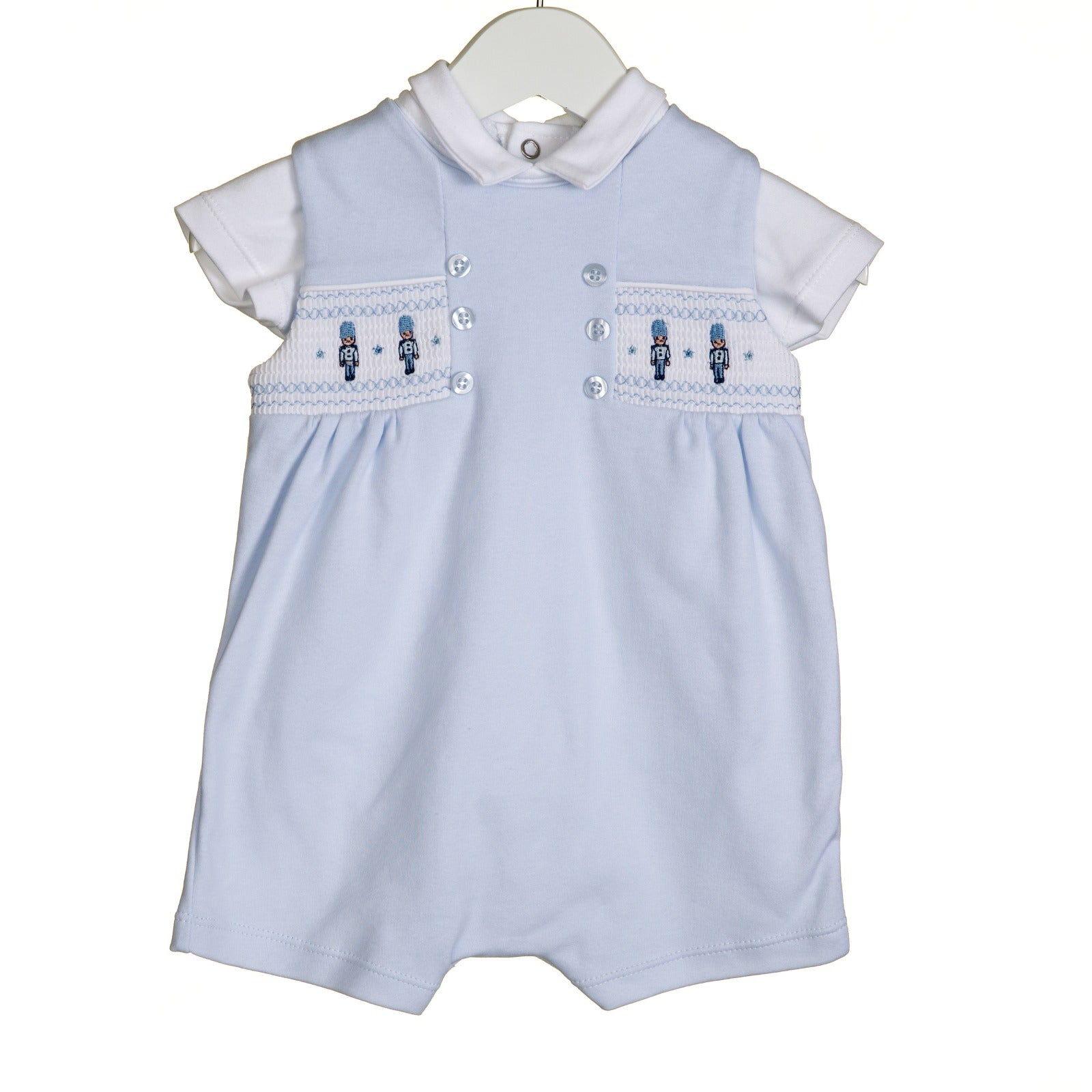 Blues Baby Solider Romper Set