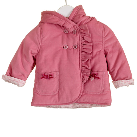Blues Baby Corduroy Pink Coat