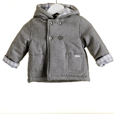Blues Baby Grey Padded Coat