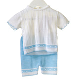 Blues Baby 2 Piece Short Set