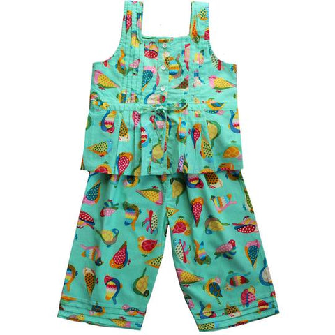 Powell Craft Birds of Paradise Strapped PJs