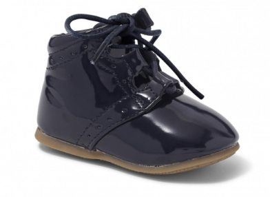 Marco Black Lace-Up Shoe