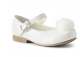 Piper White Hard Sole Shoes
