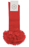 Red Tutu Socks
