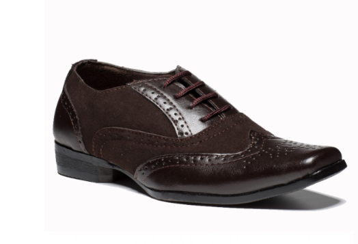 Angelino Brown Smart Shoe