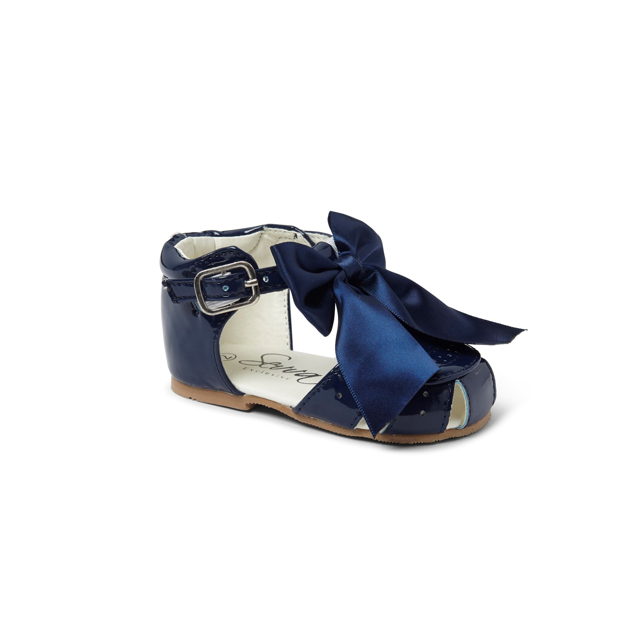 Terri Bow Sandals Navy