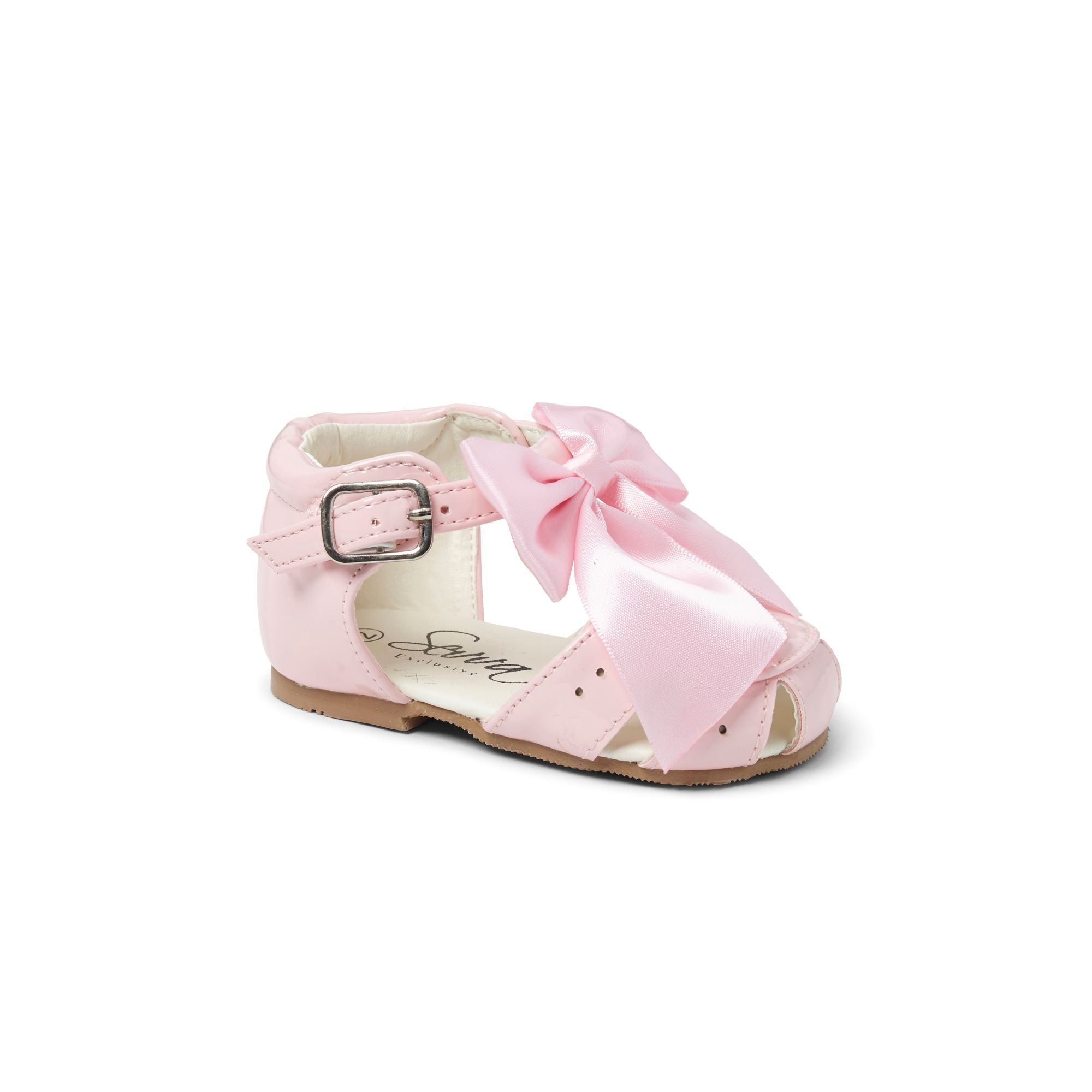 Terri Bow Sandals Pink