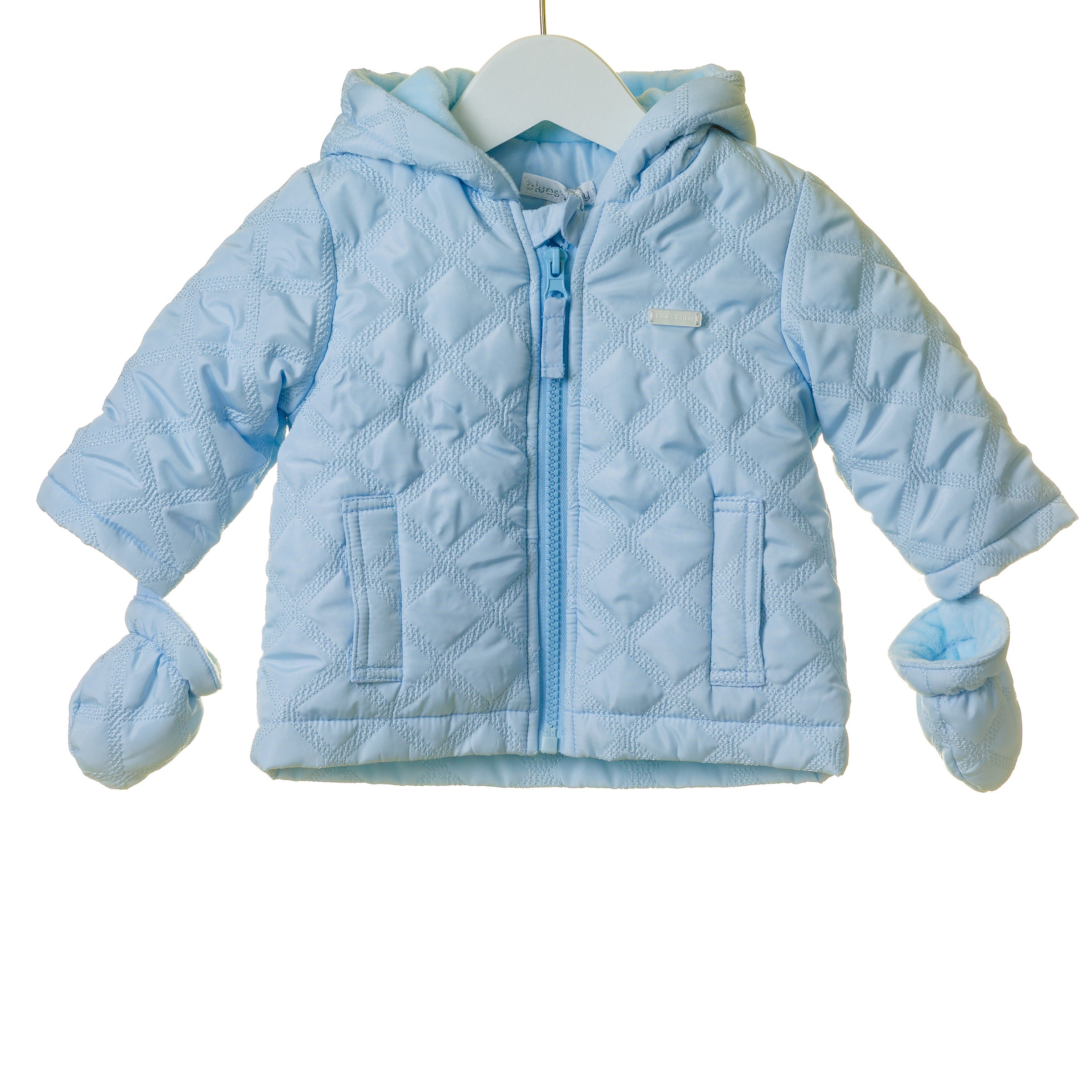 Blues Baby Padded Boys Coat