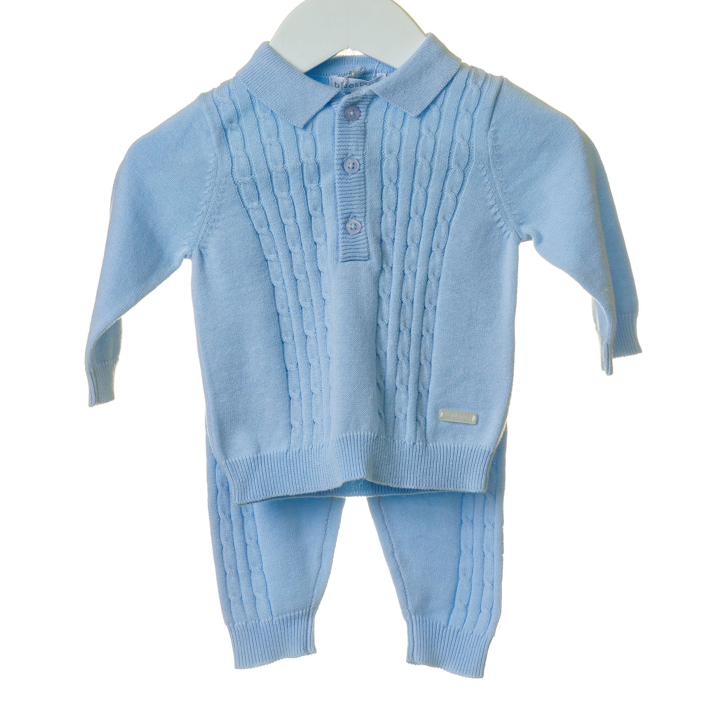 Archie Sky Blues Baby Tracksuit