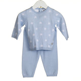 Blues Baby Sky Star Knitted Set