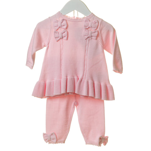 Blues Baby Knitted Bow Tracksuit
