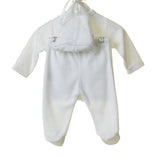 Blues Baby Unisex 3 Piece Velour Set