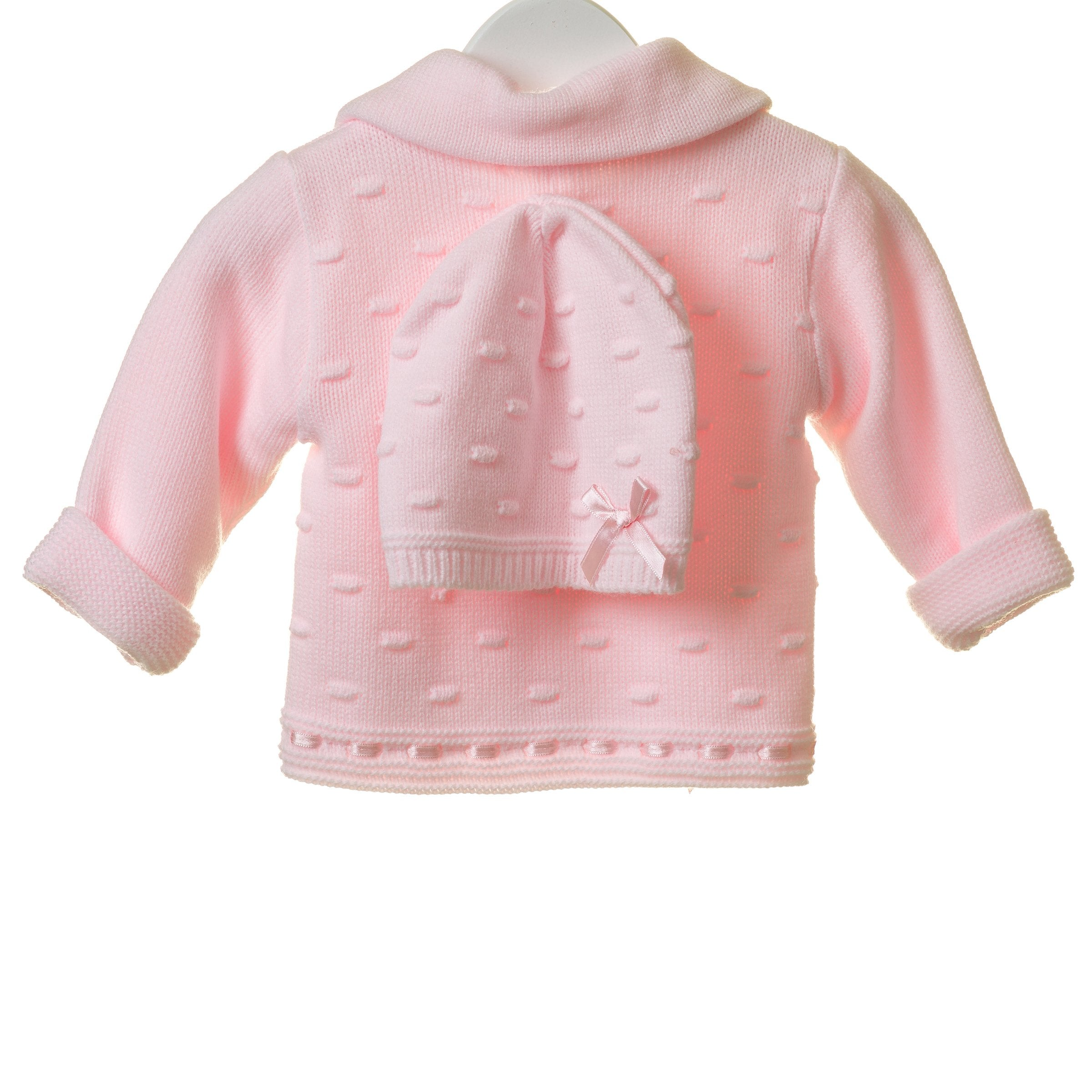 Blues Baby Knitted Girls Jacket