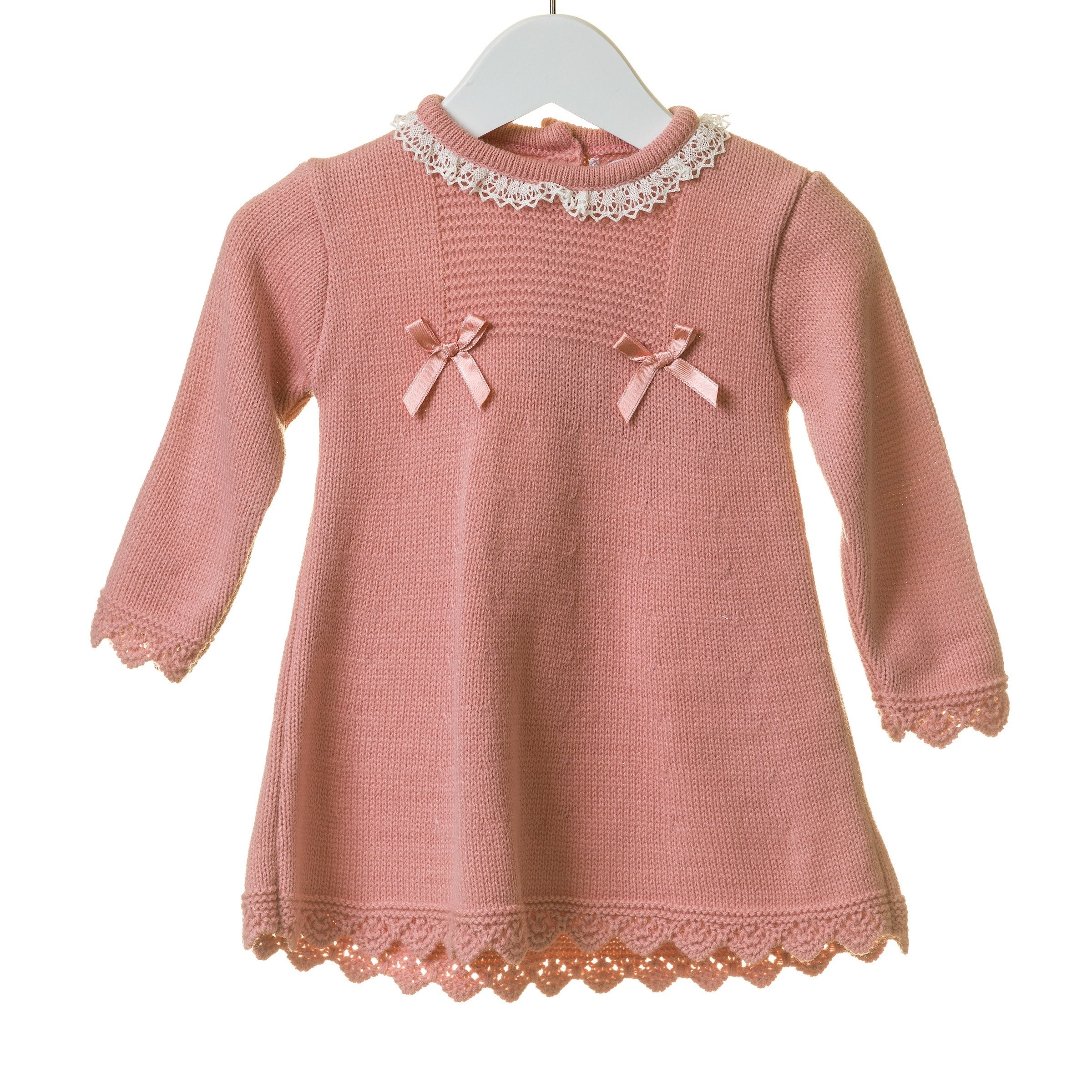 Rose Blues Baby Knit Dress