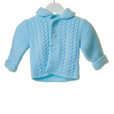 Blues Baby Sky Knitted Jacket