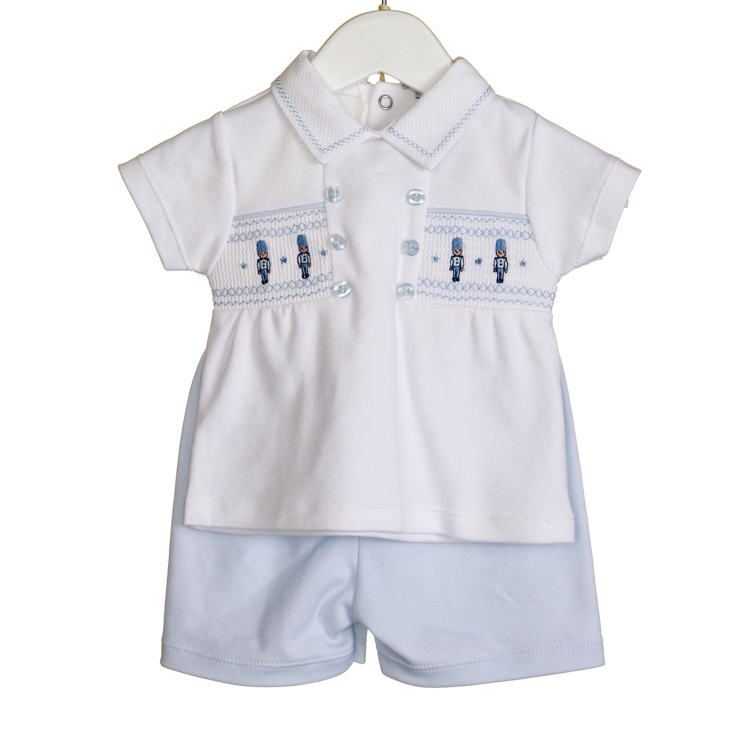 Blues Baby Soldier Short Set
