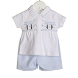 Blues Baby Solider Short Set