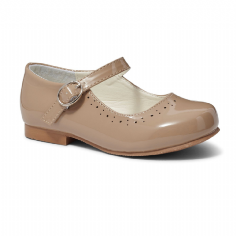 Abbey Camel Hard Sole Shoes