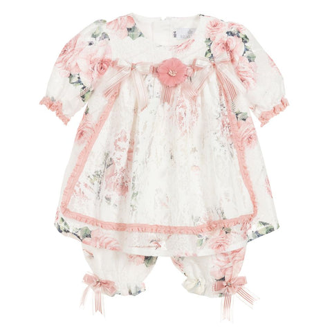 Beau Kid Swan Dress Bloomer Set