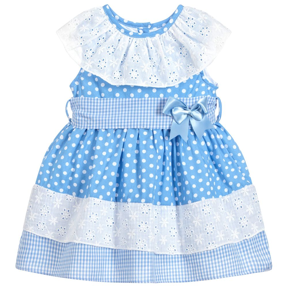 Beau Kid Cornflower Blue Dress