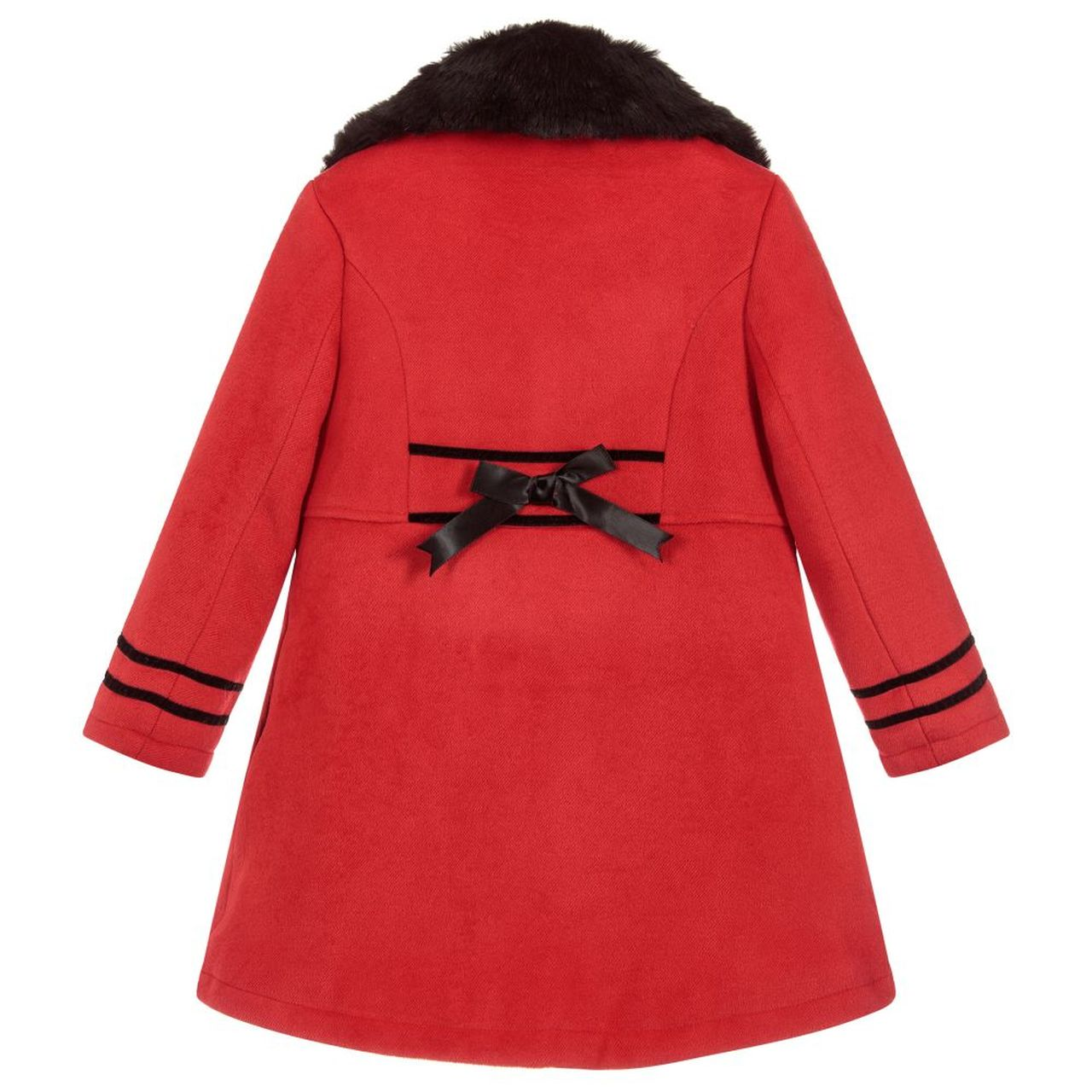 Beau Kid Classic Red Coat