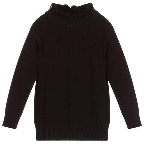 Beau Kid Black Luxury Knit Jumper