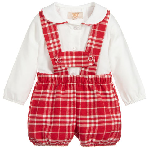 Caramelo Kids Red H Bar Set