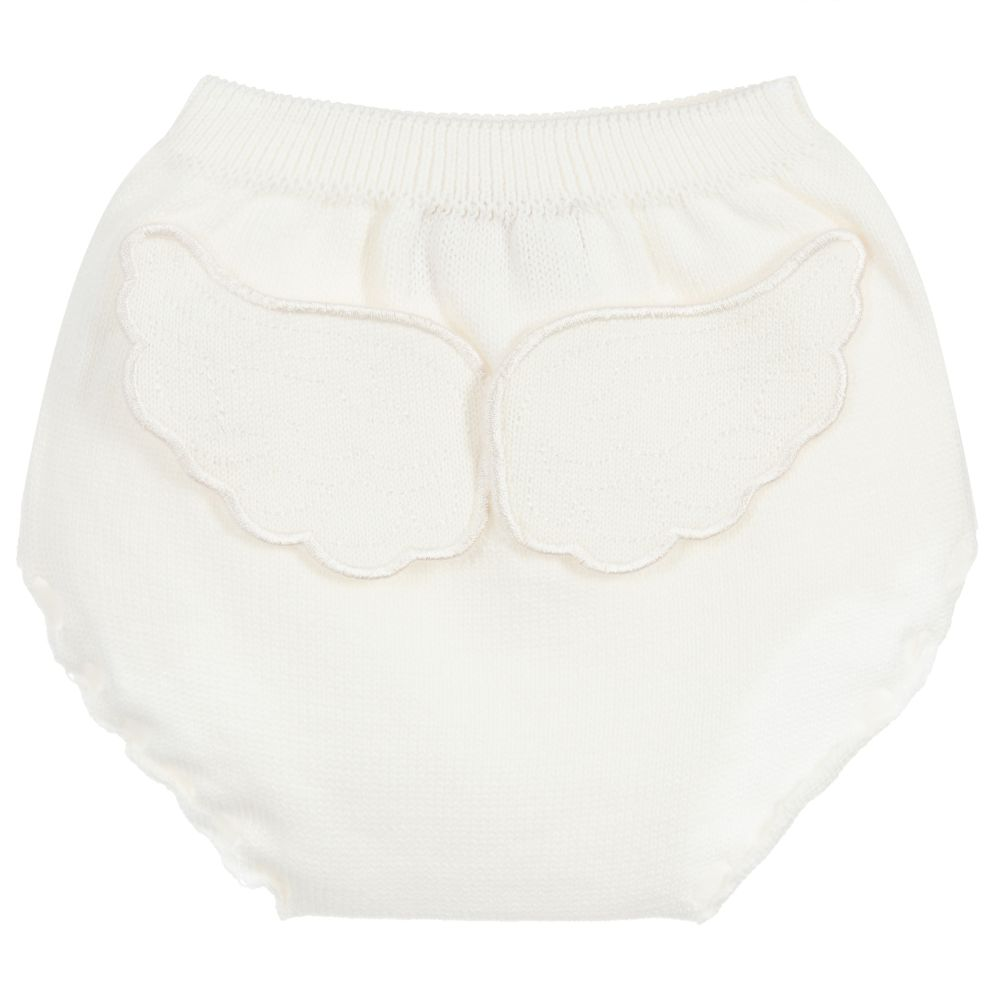 Caramelo Kids Winged Knickers Ivory