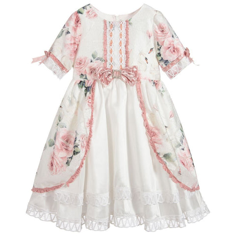 Beau Kid Pink Swan Dress
