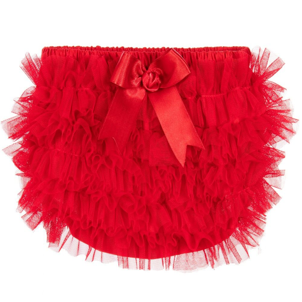 Red Frilly Tutu Pants