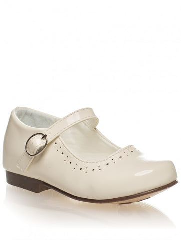 Abbey Cream Hard Sole Shoes
