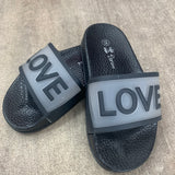 LOVE Sliders Black