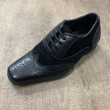 Angelino Black Smart Shoe