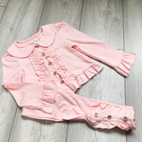 Ruffle Lounge Set Pink