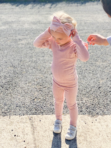Sparkle Pink 3pc Tracksuit