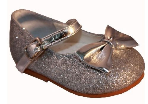 Sevva Glitter Silver Millie Shoes