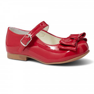 Liya Red Bow Shoe