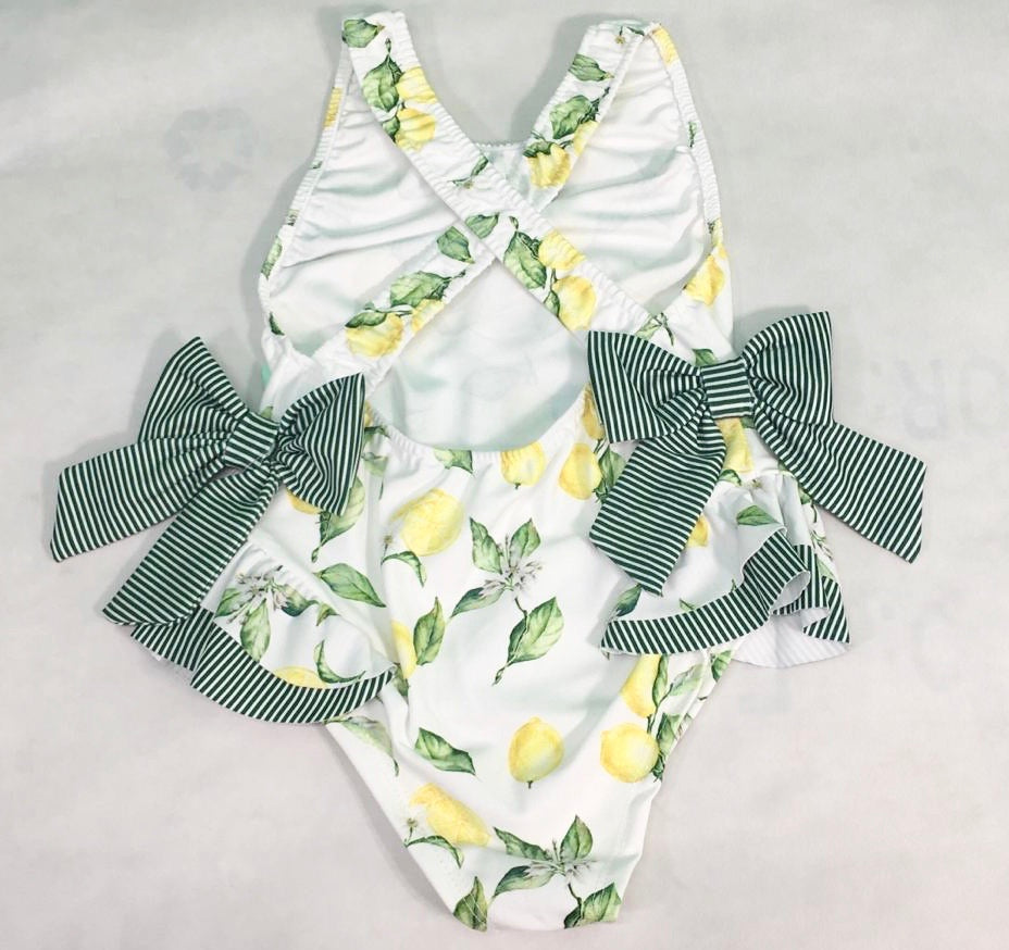 Lemon Bow Swimsuit