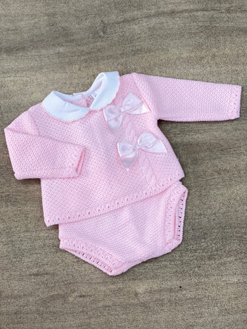 Pippa Double Bow Jam Pant Set
