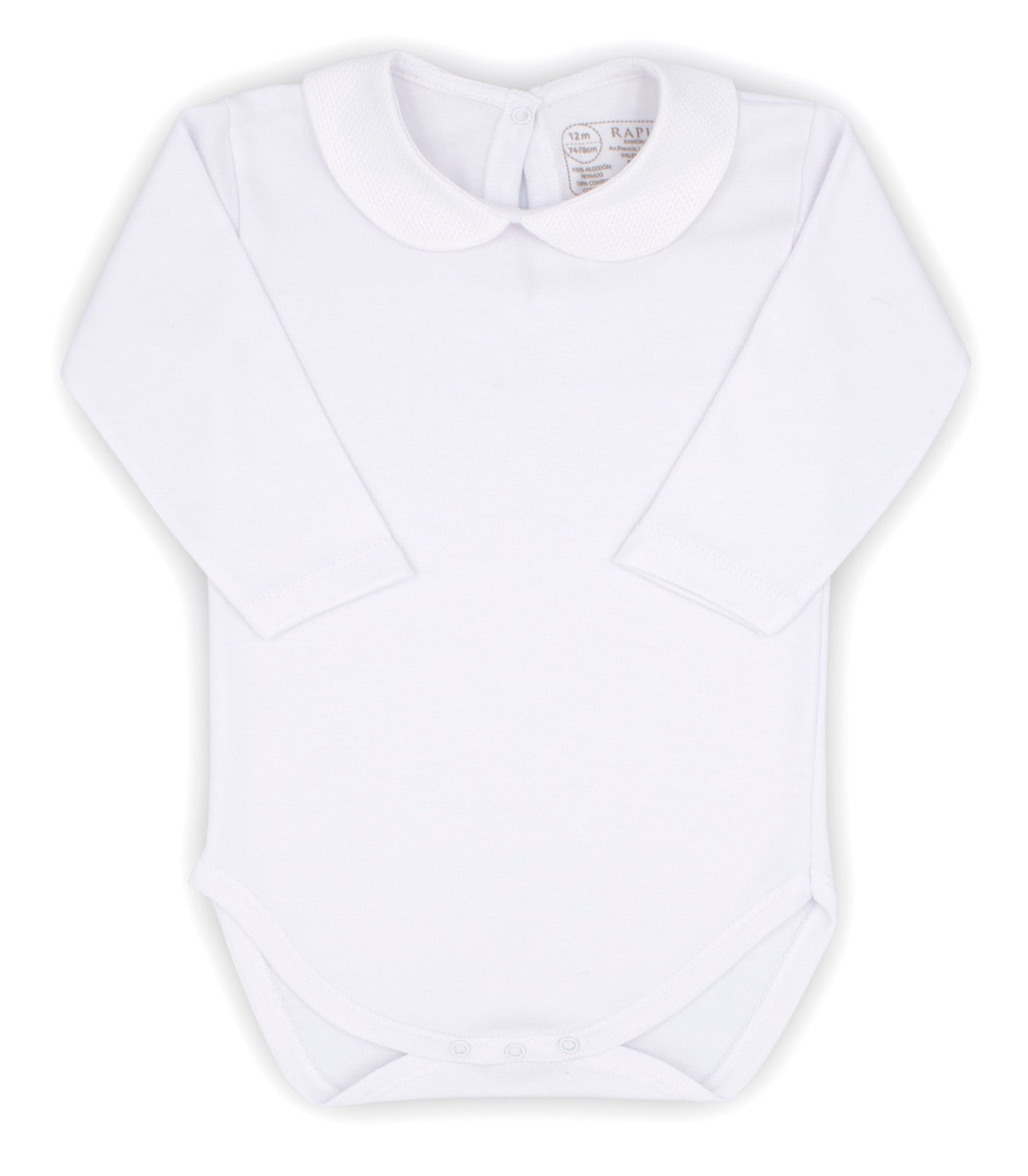 Rapife AW20 Peter Pan Collar Bodysuit White
