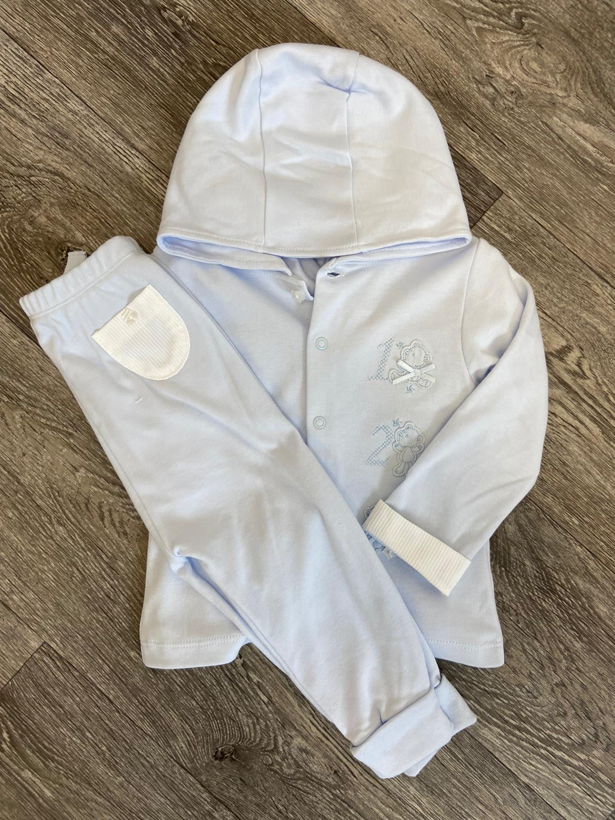 "Blues Baby ""123"" 3PC Tracksuit Set"