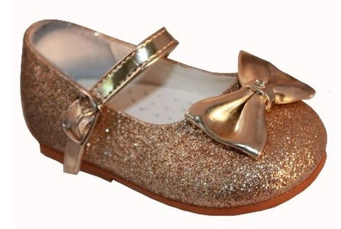 Sevva Glitter Gold Millie Shoes