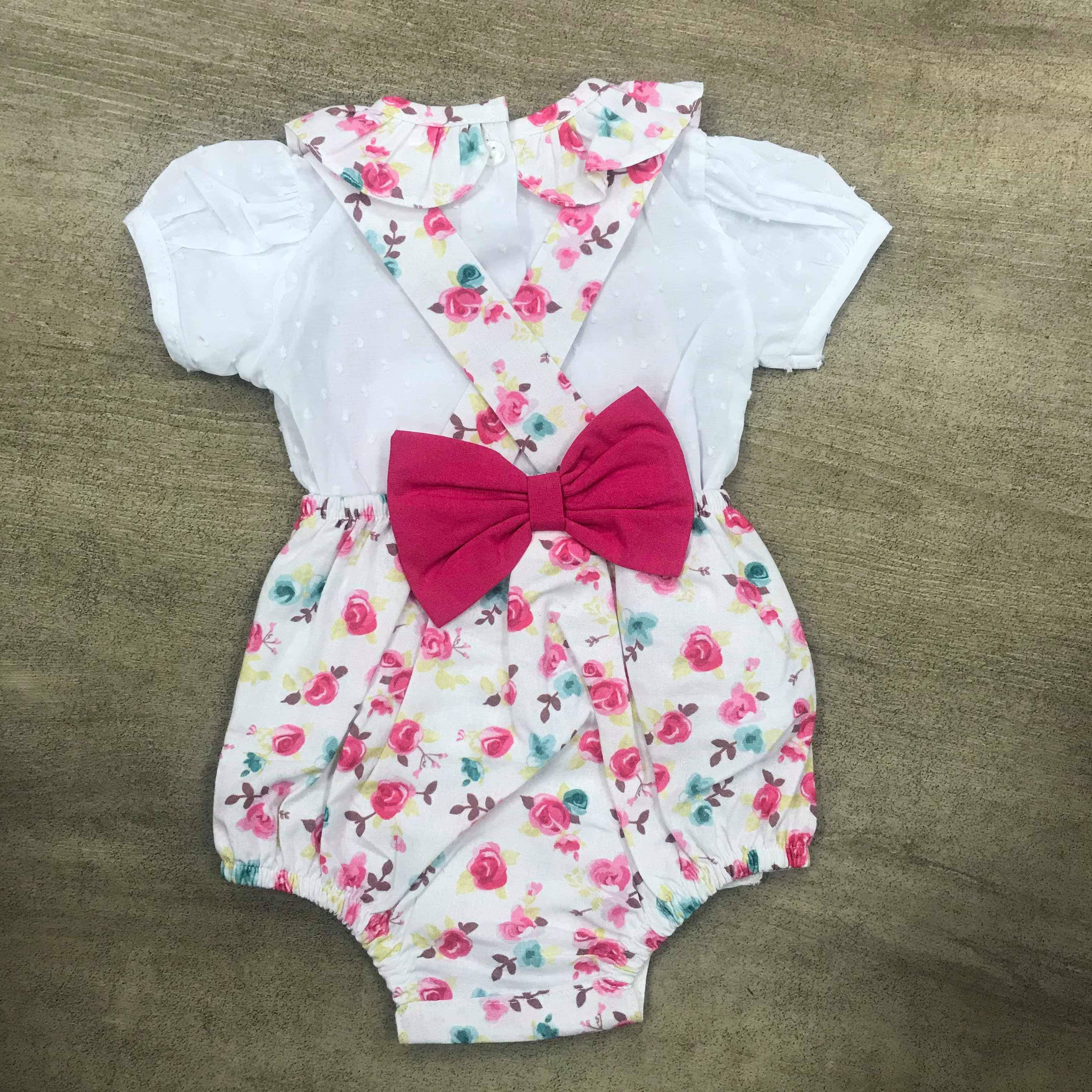 Spanish Candy Bow Romper