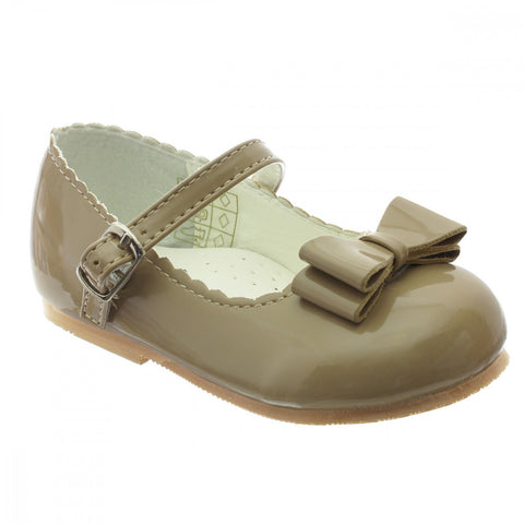 Special offer! Elena Camel Hard Sole Shoe