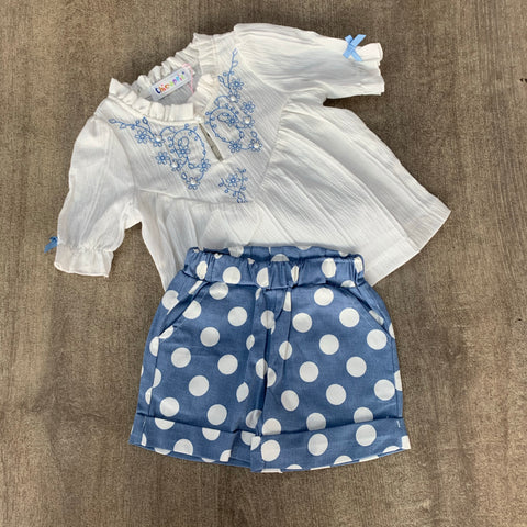 Polka Dot Short Set