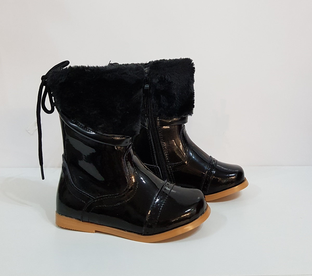 Beau Kid Fiona Boot Black