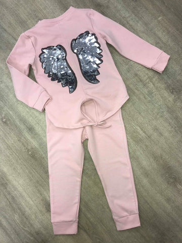 Pink Angel Wing Tracksuit