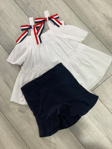 Penelope Short Set Navy