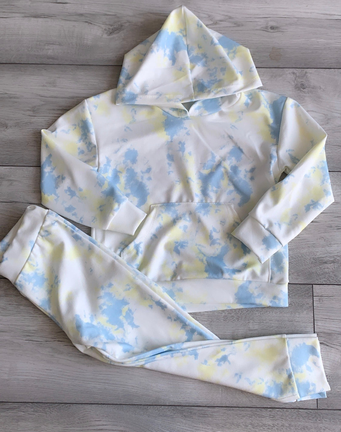 Cloud Tie Dye Lounge Suit