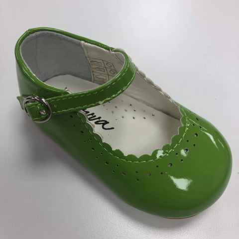 Emma Pistachio Hard Sole Shoes Sevva
